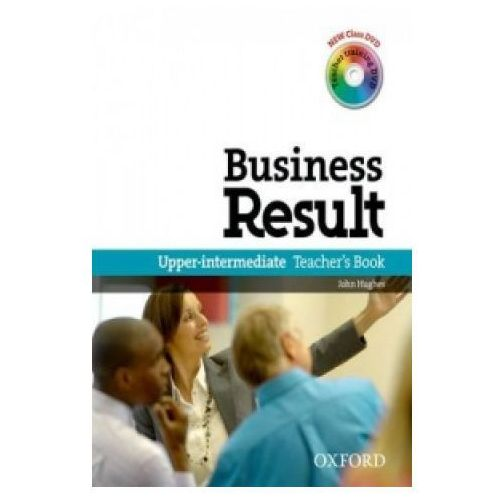 Książki do nauki języka, Business Result Upper-Inter. TB /DVD gratis/ (opr. miękka)