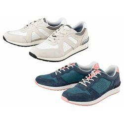 ESMARA® Sneakersy damskie skórzane, 1 para