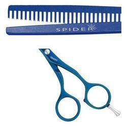 Tondeo Spider Shine Classic Blue A-Line nożyczki, degażówki jednostronne 5.25 (7037) antyalergiczne