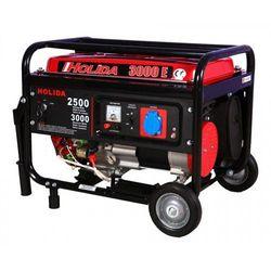 Agregat prądotwórczy, generator HOLIDA 3000 jedna faza z rozruchem el. 3kW