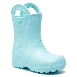 Kalosze CROCS - Handle It Rain Boot Kids 12803 Ice Blue