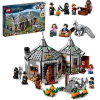 Klocki dla dzieci, LEGO Harry Potter 75947 Chatka Hagrida: na ratunek Hardodziobowi