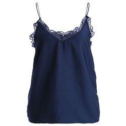 Pieces PCALMA SINGLET Koszulka do spania navy blazer