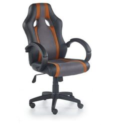 Fotel dla gracza, gamingowy HALMAR RADIX pomarańczowy