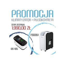 Klimatyzator przenośny Fral Super Cool FSC 09.1 + gratisowy pulsoksymetr DS-105 - wydajność ok 25 m2 - PROMOCJA