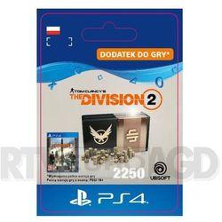 Tom Clancy's The Division 2 - Pakiet 2250 Kredytów [kod aktywacyjny] PS4