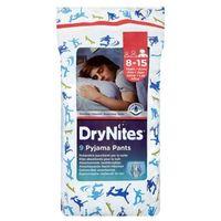 Pozostałe pieluchy, HUGGIES DryNites BOY (27-57kg) majteczki na noc 9szt pieluszki