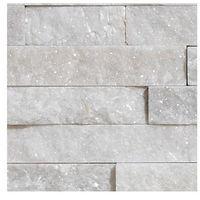 Kamień, STEGU KAMIEŃ NATURALNY PŁYTKA BIANCO 40x10CM OPK.0,43M2