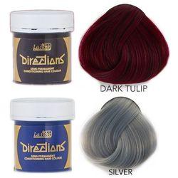 La Riche Directions   Zestaw tonerów koloryzujących: kolor Dark Tulip 88ml + kolor Silver 88ml