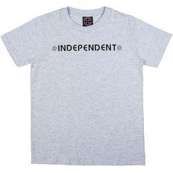 koszulka INDEPENDENT - Youth Bar Cross Tee Athletic Heather (ATHLETIC HEATHER) rozmiar: 8-10