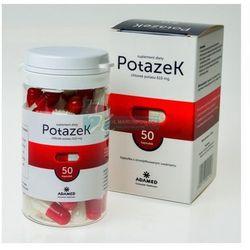 Potazek 610 mg 50 kaps.