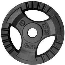 Obciążenie żeliwne do sztangi grafitowe (30,5 mm) 2,5 kg - 2,5 kg