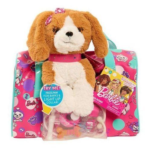 Pozostałe zabawki, Barbie torba opiekunki zwierząt brązowy szczeniak