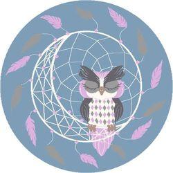 Dywan Agnella Soft Dreamcatcher Pink/Róż (koło) 80x80