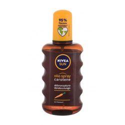 Nivea Sun Carotene Oil Spray preparat do opalania ciała 200 ml unisex