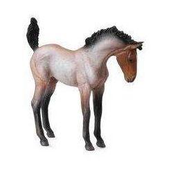 Koń źrebię Mustang maści gniadej - figurka - COLLECTA