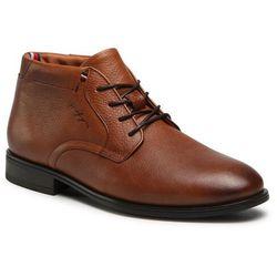 Trzewiki TOMMY HILFIGER - Technical Comfort Leather Boot FM0FM03062 Winter Cognac GVI