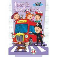 Książki dla dzieci, Język angielski. 48 naklejek (opr. miękka)