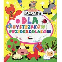 Książki dla dzieci, Zadania dla bystrzaków przedszkolaków 1 (opr. miękka)