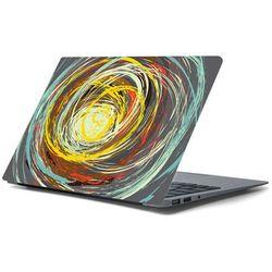 Naklejka na laptopa - Kolorowe okręgi 4364
