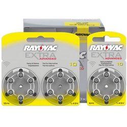 600 x baterie do aparatów słuchowych Rayovac Extra Advanced 10 MF