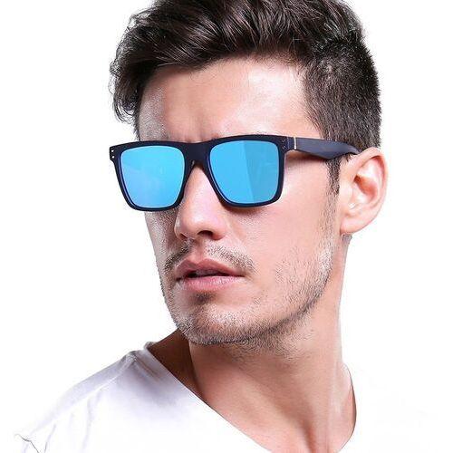 Okulary przeciwsłoneczne, Okulary męskie przeciwsłoneczne polaryzacyjne blue