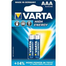 Zestaw baterii alkaliczne VARTA High Energy 4903121412 (x 2)