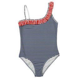 Pepe Jeans Strój kąpielowy 'AMARA' niebieski / czerwony / biały
