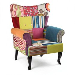 Patchwork krzesło RELAX