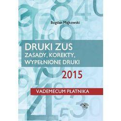 EBOOK Druki ZUS 2015