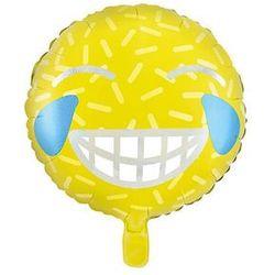 """Balon foliowy """"Emotikon - Uśmiech"""", PartyDeco, 18"""""""