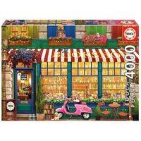 Puzzle, Puzzle 4000 Księgarnia w stylu retro G3