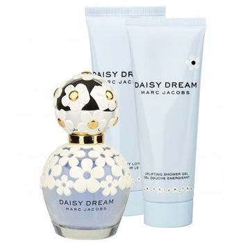 Marc Jacobs Daisy Dream. Woda toaletowa 50ml, Balsam do ciała 75ml, Żel pod prysznic 75ml - Marc Jacobs