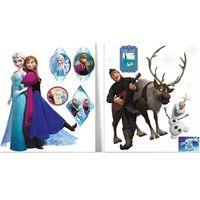 Naklejki na ściany, Imagicom Naklejka ścienna zdejmowalna Frozen - Kraina Lodu - 2 arkusze