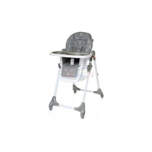 Krzesełka do karmienia, 4Baby Krzesełko do karmienia DECCO szare
