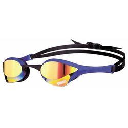 arena Cobra Ultra Mirror Okulary pływackie niebieski 2018 Okulary do pływania
