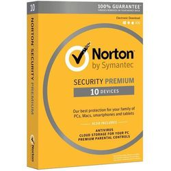*Norton Security 3.0 PREMIUM PL CARD 1U 10Dvc 1Y 21357597