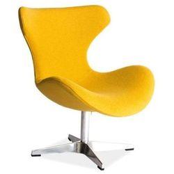 Nowoczesny fotel FELIX yellow