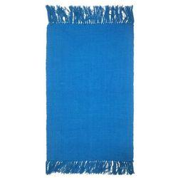Dywanik 50 x 80 cm niebieski