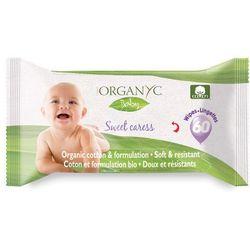 Chusteczki nawilżane z bio-bawełny dla niemowląt