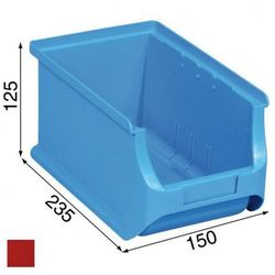 Warsztatowe pojemniki z tworzywa sztucznego - 150 x 235 x 125 mm