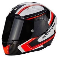 SCORPION EXO-2000 EVO AIR CARB WH-RED-BK Kask integralny