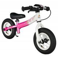 """Rowerki biegowe, Rowerek biegowy 10"""" BIKESTAR GERMANY sport kolor różowo biały"""