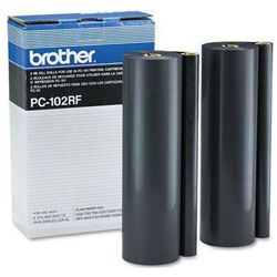 Brother folia termotransferowa Black 2 rolki PC102RF, PC-102RF