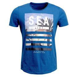 Q/S designed by Tshirt z nadrukiem light bali blue