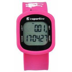 Krokomierz elektroniczny inSPORTline Strippy - Kolor Różowy