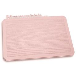 Deska śniadaniowa Happy Boards Mmmmhhh... pastelowy róż