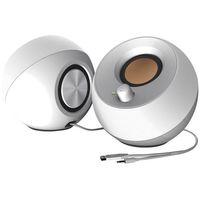 Głośniki do komputera, Głośniki CREATIVE Pebble 2.0 Biały