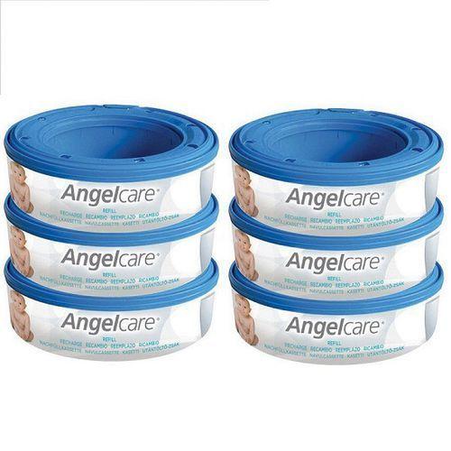 Pozostałe pieluchy, Wkład 6-pak do pojemnika na pieluchy AngelCare