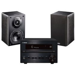 Yamaha CRX-B370D (czarny) + NOTA 240 (czarny)